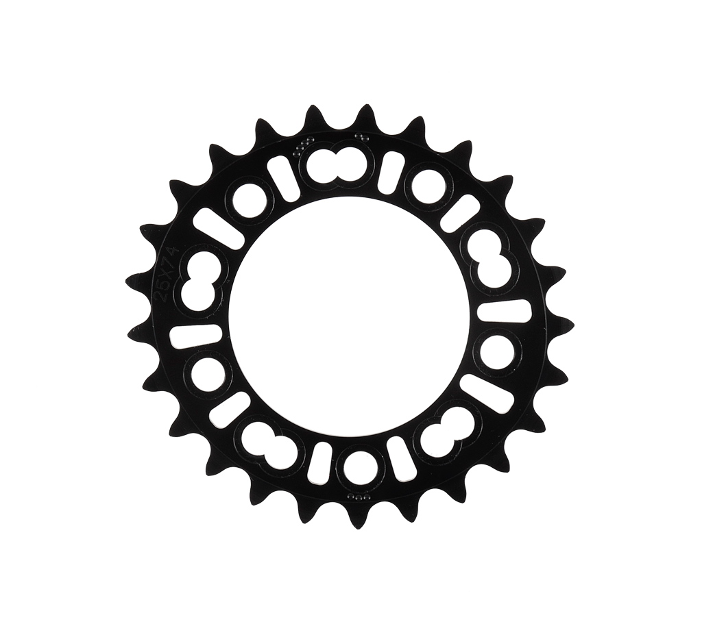 Black Rotor QRings XC2 BCD74x5 25T//27T MTB Inner Chainring